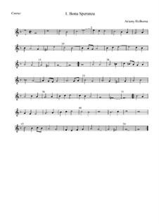 Bona Speranza: Cantus by Anthony Holborne