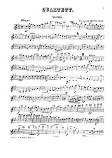 Фортепианный квартет ми-бемоль мажор, Op.30: Фортепианный квартет ми-бемоль мажор by Фердинанд Тьерио