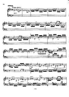 Вариации и Фуга на тему прелюдии до минор Шопена, BV 213 Op.22: Фуга by Ферруччо Бузони