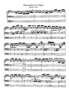 Прелюдия для органа ми мажор, BuxWV 141: Прелюдия для органа ми мажор by Дитрих Букстехуде