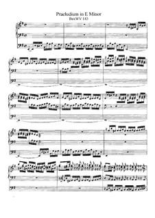 Прелюдия для органа ми минор, BuxWV 143: Для одного исполнителя by Дитрих Букстехуде