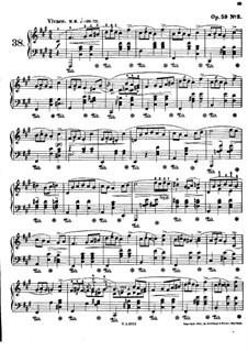 Мазурки, Op.59: No.3 фа-диез минор by Фредерик Шопен