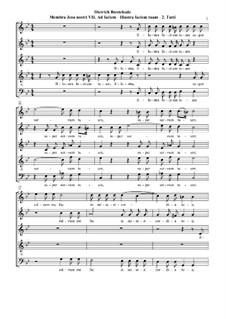 Membra Jesu Nostri (The Limbs of our Jesus), BuxWV 75: No.7 Ad faciem (To the face). Movement II 'Illustra faciem tuam' by Дитрих Букстехуде