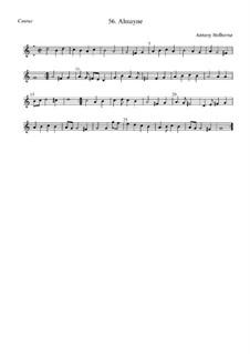 Almayne: Cantus by Anthony Holborne