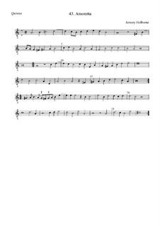 Amoretta: Quintus by Anthony Holborne
