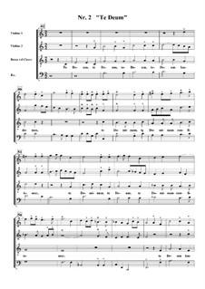 Te Deum, H.146: No.2 Te Deum laudamus by Марк-Антуан Шарпантье