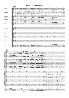 Te Deum, H.146: No.4 Pleni sunt coeli et terra by Марк-Антуан Шарпантье