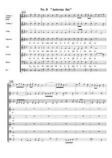 Te Deum, H.146: No.8 Aeterna fac sum Sanctis tuis by Марк-Антуан Шарпантье
