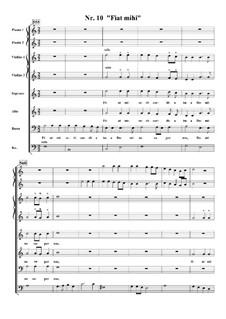 Te Deum, H.146: No.10 Fiat mihi by Марк-Антуан Шарпантье