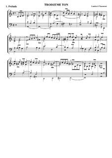 Suite troisième ton: Suite troisième ton by Lambert Chaumont