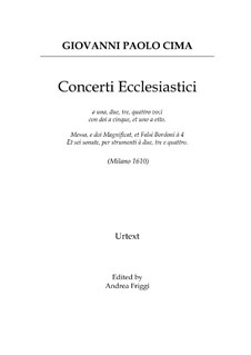 Concerti Ecclesiastici: Concerti Ecclesiastici by Джованни Паоло Чима