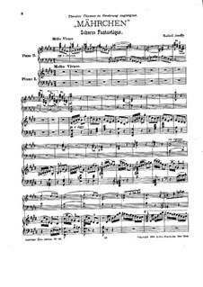 Mährchen: Für zwei Klaviere, vierhändig by Рафаэл Джозеффи