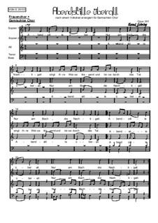 Abendliederzyklus. Abendstille überall, Op.291: Abendliederzyklus. Abendstille überall by folklore