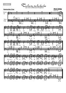 Abendliederzyklus. Tu la tu, Op.301: Abendliederzyklus. Tu la tu by folklore