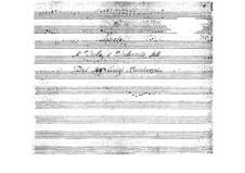 Соната для альта и бассо континуо: Соната для альта и бассо континуо by Луиджи Боккерини