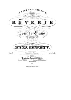 Rêverie, Op.39: Rêverie by Джулиус Бенедикт