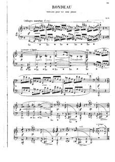 Рондо до мажор, Op.73: Для фортепиано by Фредерик Шопен