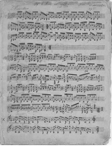The New Butterfly, Op.5: No.11, 15 by Маттео Каркасси