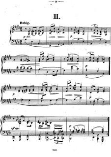 Двенадцать пьес для фортепиано, Op.26: Пьесы No.3-4 by Теодор Кирхнер
