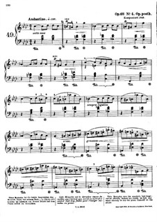 Мазурки, Op. posth.68: No.4 фа минор by Фредерик Шопен