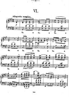 Двенадцать пьес для фортепиано, Op.26: Пьеса No.6 by Теодор Кирхнер