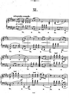 Двенадцать пьес для фортепиано, Op.26: Пьеса No.11 by Теодор Кирхнер
