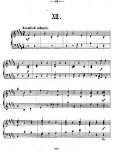 Двенадцать пьес для фортепиано, Op.26: Пьеса No.12 by Теодор Кирхнер