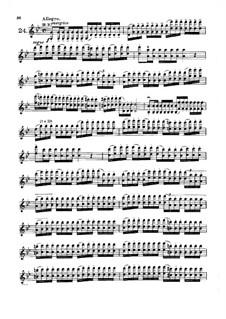 Сорок два этюда или каприса: Этюды No.24-30 by Родольф Крейцер