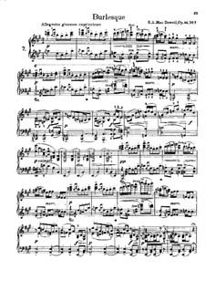 Двенадцать виртуозных этюдов, Op.46: Этюды No.7-12 by Эдвард Макдоуэлл