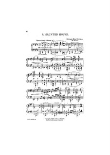 Fireside Tales, Op.61: No.5 A Haunted House by Эдвард Макдоуэлл