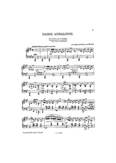 Les Orientales, Op.37: No.3 Dans Andalouse by Эдвард Макдоуэлл