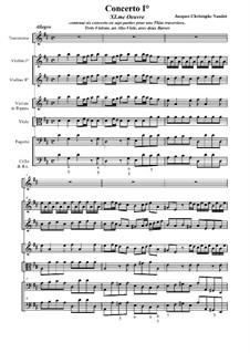 Концерт для флейты с оркестром No.1 ре мажор, Op.11: Концерт для флейты с оркестром No.1 ре мажор by Жак-Кристоф Нодо