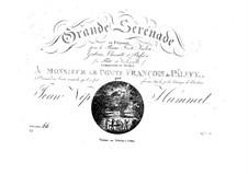 Большая серенада No.2, Op.66: Партии by Иоганн Непомук Гуммель