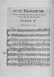 Daphnis et Alcimadure: Акт III by Жан-Жозеф Кассанеа де Мондевиль