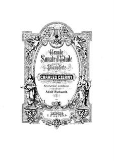 Соната для фортепиано No.10 си-бемоль мажор, Op.268: Части I-II by Карл Черни