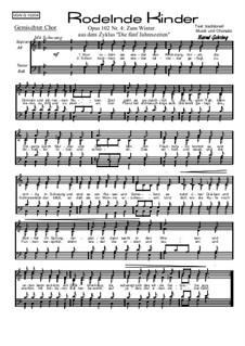 Die 5 Jahreszeiten, Op.102: Nr.4: Zum Winter by Bernd Gehring