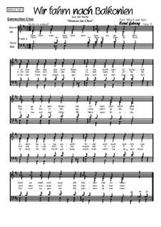 Wir fahrn nach Balkonien, Op.37: Wir fahrn nach Balkonien by Bernd Gehring
