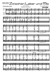 Zwischen Leber und Milz, Op.73: Zwischen Leber und Milz by Bernd Gehring