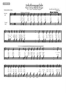 Nr.1: Erkältungsgefahr, Op.90: Für gemischten Chor by Bernd Gehring