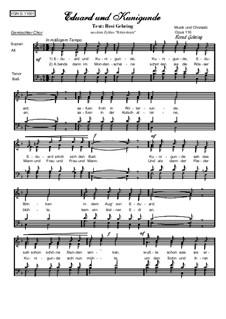 Eduard und Kunigunde, Op.116: Eduard und Kunigunde by Bernd Gehring