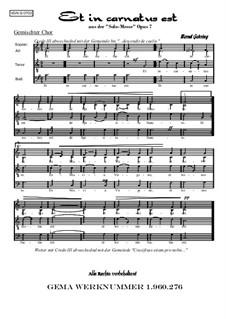 Solomesse, Op.7: Nummer 3: Credo: Et in carnatus est by Bernd Gehring