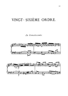 Vingt-sixième ordre : Сборник by Франсуа Куперен