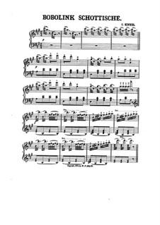 Bobolink Schottische: Bobolink Schottische by Чарльз Кинкель