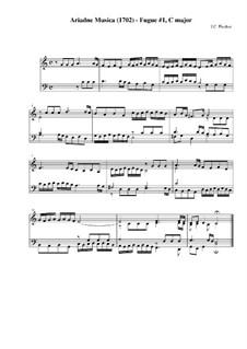 Музыкальная Ариадна: Фуги No.1-20 by Иоганн Каспар Фердинанд Фишер