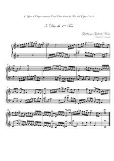 Premier livre d'orgue: No.5 Duo by Guillaume-Gabriel Nivers
