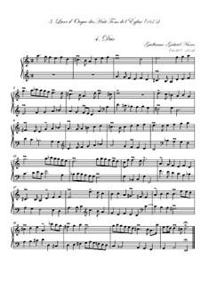 Troisième livre d'orgue: No.4 Duo by Guillaume-Gabriel Nivers