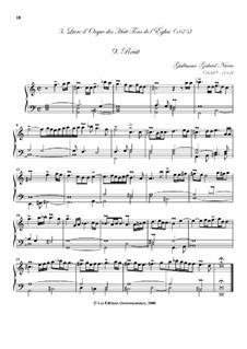 Troisième livre d'orgue: No.9 Récit by Guillaume-Gabriel Nivers