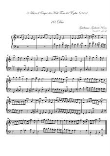 Troisième livre d'orgue: No.10 Duo by Guillaume-Gabriel Nivers
