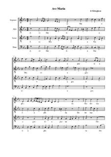 Аве Мария: Аве Мария by Йоханнес Окегем