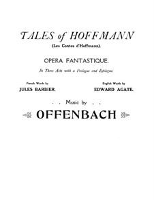 Вся опера: Переложение для голосов и фортепиано (Английский и французский тексты) by Жак Оффенбах